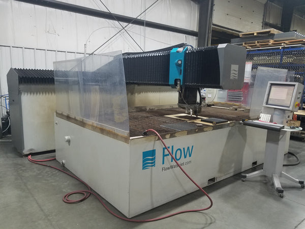 Flow Mach 3 4020b D Dynamic Waterjet, 2011 - 5 X 10 Table, 60,000 PSI