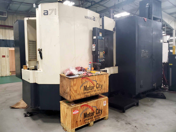 2008 Makino A71 Horizontal Machining Center Pro 5 Control