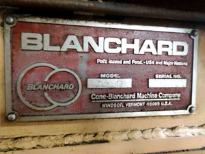 Blanchard 22K-42 Rotary Surface Grinder