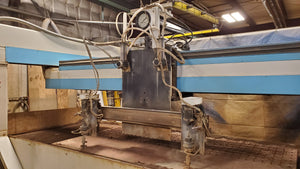 4' x 8' Jet Edge 48 High Rail Waterjet, 2001 - 60,000 PSI