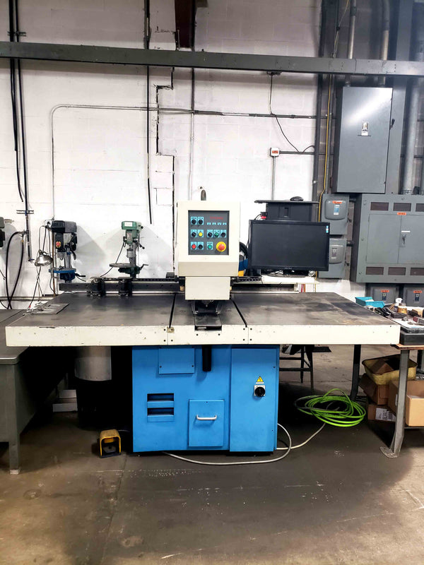 1996 Euromac CX 750/30 - Three Cabinets of Tooling Inculded