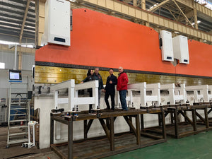 2200 Ton x 58' AccurlUSA GeniusGiant CNC Press Brake, 2019, NEW- Tooled, Warranty