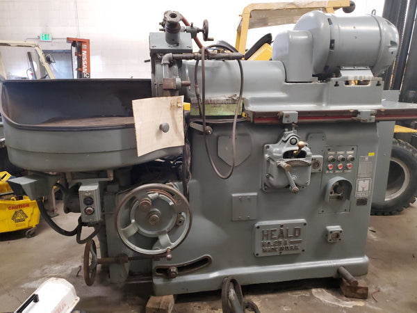 "HEALD 25A Rotary Surface Grinder - 30"" Magnetic Chuck, Tilting Table"