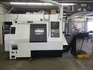 Mazak Super Quick Turn 15M CNC Lathe, 1991 - Live Tooling
