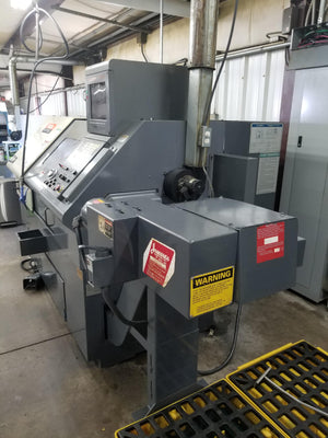 Mazak Quick Turn 20N CNC Lathe, 1997 - Bar Feeder