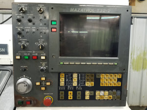 Mazak Quick Turn 15N CNC Lathe, 1995 - Bar Feeder