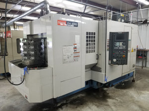 Mazak FH 4000 CNC Horizontal Machining Center, 2001 - Thru Spindle Coolant, 40 ATC
