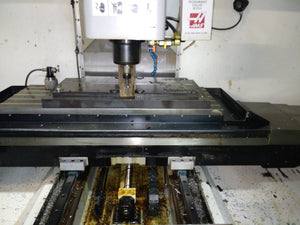 HAAS VF-3D VMC, 2003 - TSC, RT, Chip System, 4th Axis,VOP-D