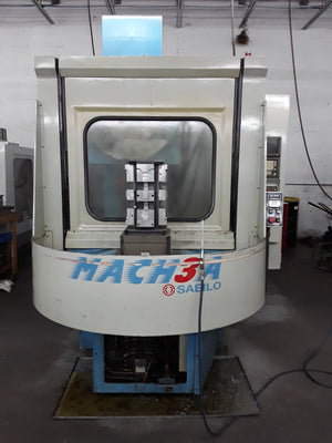 Saeilo Mach 3A HMC, 1996 - Chip Conveyor, Rigid Tapping