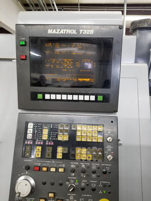 Mazak Super Quick Turn 15 Univ. CNC Lathe, 1993 - Tooling Included, Video Available