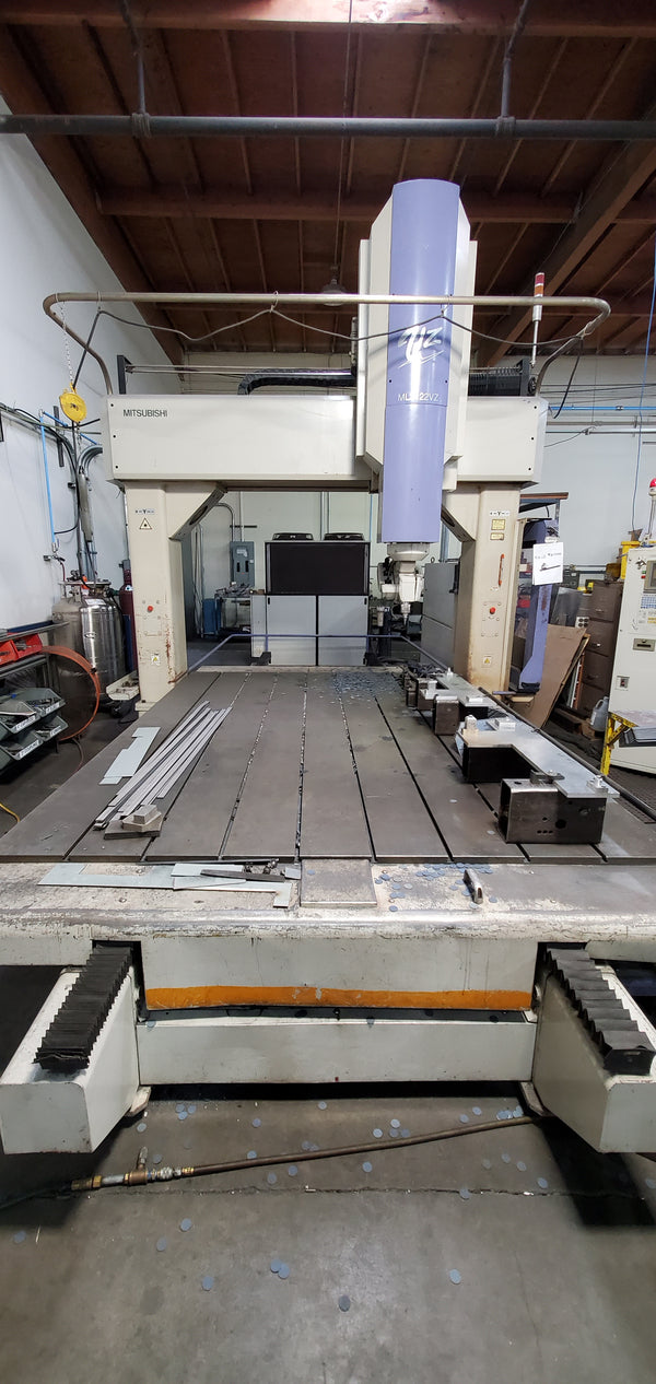 2000 Watt Mitsubishi ML3122VZ 5-Axis CO2 Laser, 2000 - 5' x 10'