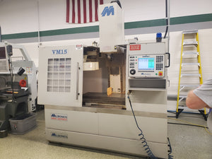 Milltronics VM-15 XT VMC, 2004 - Troyke 4th Axis, Centurion 7, Like New