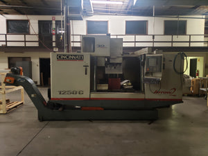 Cincinnati Arrow 2 1250C CNC Vertical Machining Center - 2004, Seimens Acramatic 2100 (Known issue/alarm) W/ Fixture table for Additional Cost