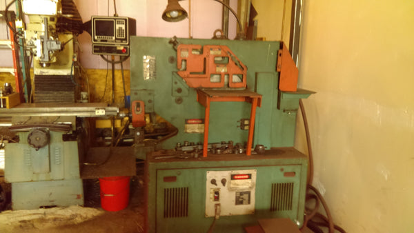 55 Ton Mubea HPSN500 Ironworker - Punches Included