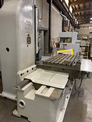 "DeVlieg 4-B Jig Mill, 1974 - 4"" Spindle, 48"" x 60"" Table, 2 Axis DRO"