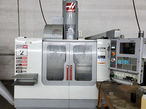 Haas VF-2SS VMC, 2003 - Chip Auger, 4th Axis