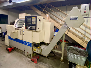 Okuma Cadet 8 Big Bore Lathe - 1995, Excellent Condition