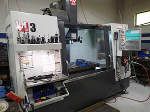 Haas VM-3 VMC 2013 - Mold Maker VF-3, Side Arm ATC, 30 HP