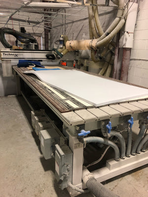 "Techno Model 4896 High Speed / High Power LC Series CNC Router, 2011 - 4' x 8' (48"" x 96"")"
