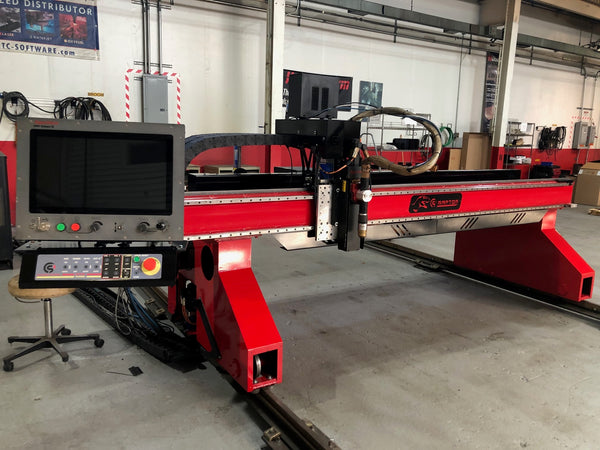 8' x 20' Cutting Systems Raptor CNC Plasma, 2018- Hypertherm HPR400XD, Downdraft Table