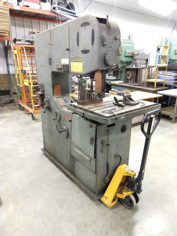 "24""/36""x125""/175"" DoAll 3612-1H3 Vertical Band Saw, 1977"