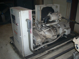 50 HP GARDNER DENVER ROTARY SCREW AIR COMPRESSOR SKID MOUNTED