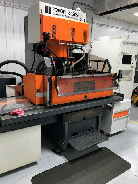 Charmilles Robofil 6020 SI 5-Axis EDM, 1998 - Auto Wire Threading