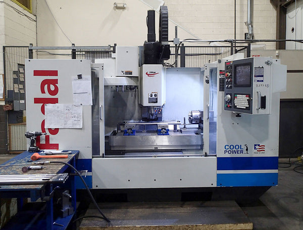 Fadal 4020 HT Vertical Machining Center, 2001- 4th Axis, Meticulously Maintained