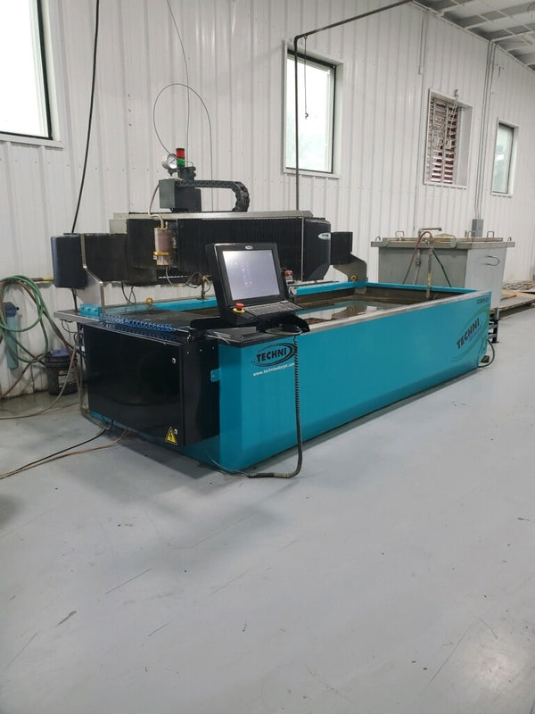 5' x 10' Techni Techjet 3000-X3 Waterjet, 2018 - 66,000 PSI