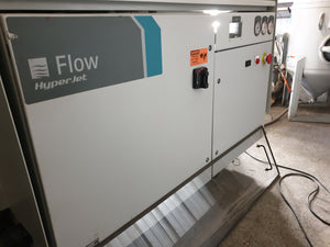 6' X 13' Flow Mach 3 4020B Waterjet, 2013-97,000 PSI, 5 Axis Cutting Head, Very Low Hours