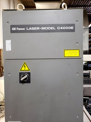 4000 Watt Cincinnati CL-6 CO2 Laser, 2001 - 5' x 10' Table, Fanuc 160i-L Control