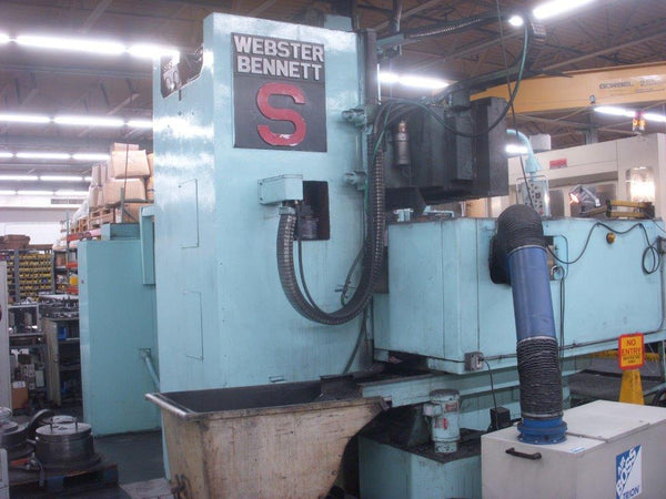 Webster & Bennett S/T/2 SERIES S, 1981 Vertical Boring Mill