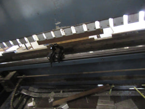 350 Ton x 13' Durma AD-S 40320 CNC Press Brake, 2007- 4 Axis, Crowning, Flush Floor Design