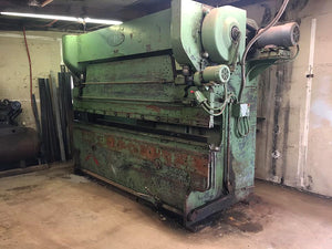 Chicago 45/50 Ton x 10' Mechanical Press Brake with Dies
