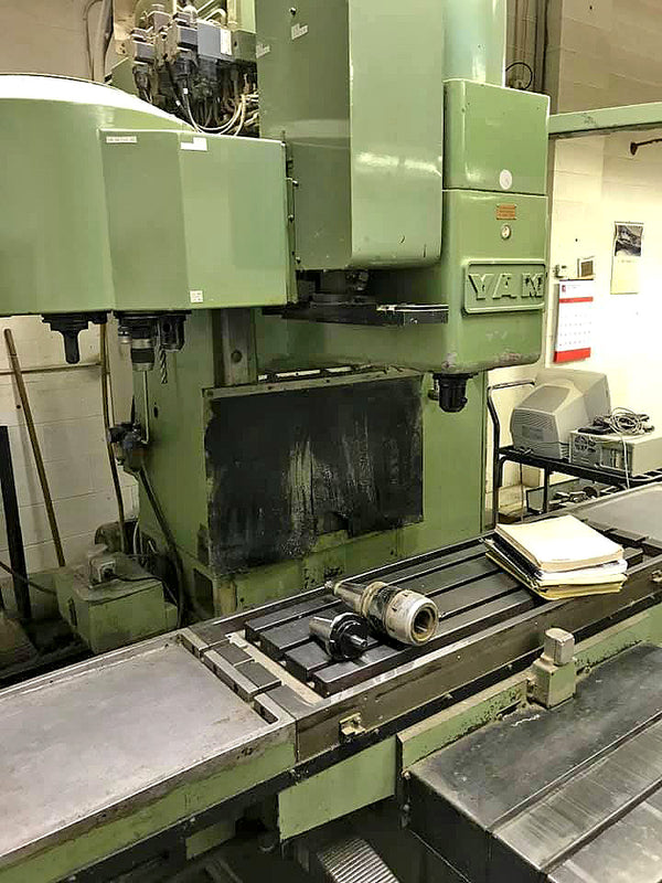 1985 Yam 2040 CNC Vertical Machining Center with Tool Holders  Video Available