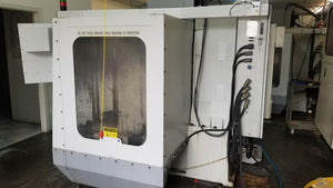 Haas VF-2 VMC, 1996 - 4th Axis Wiring, Programmable Coolant, 6,000 Cutting Hours