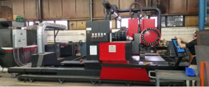"8'8"" x 10' 8"" Kinetic K4000xmc CNC Plasma, 2018- Hypertherm HPR 300, 300 Amperage"