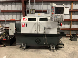 Haas TL-1 CNC Lathe, 2017 - Low Hours, 8 Station Tool Turret