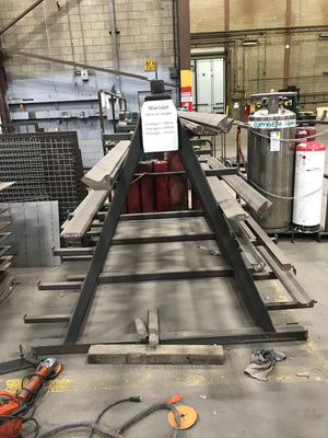 350 Ton x 12' Cincinnati 350CBx10' CNC Press Brake, 1995- Hurco Autobend 7, Tooling Included