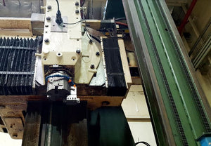 "OM VB-18 CNC VTL, Rebuilt in 1984 - Fanuc OT Control, 157"" Table"