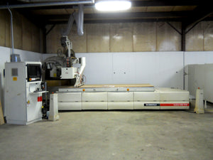 2004 Morbidelli Author 636 HP TOP 5x12 Router Table