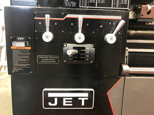 "Jet Elite 17"" x 60"" Geared Head Engine Lathe, 2013 - Acu-Rite 200S, 3-1/8"" Spindle Bore, 3 YEAR PARTS AND LABOR WARRANTY"