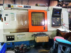 1991 Mazak Super QT 15MS - Sub, Live Milling, Video