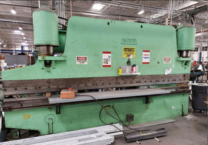 1980 Pacific 200 Ton X 16 Ft Hydraulic Press Brake