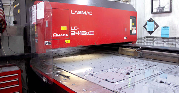 2002 Amada LC-2415A3 Lasmac CO2 Laser- 2000 Watt, 2017 Upgraded