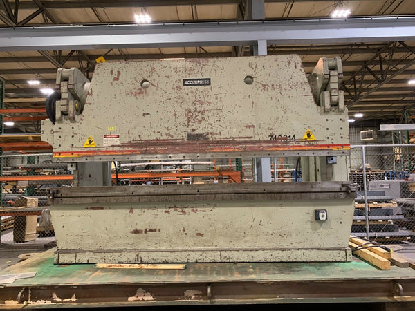 400 Ton x 14' Accurpress 740014 CNC Press Brake, 1998