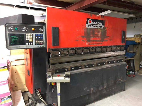Amada Promecam 80 Ton x 8' CNC Hydraulic Press Brake, 6 Axis