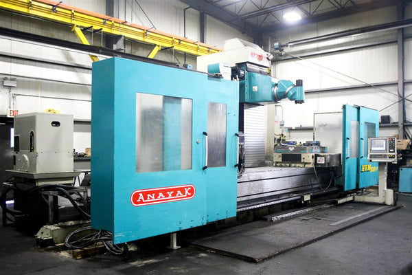 2005 Anayak HVM 5000-P 5-Side Machining Center - Universal Head