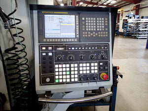 "Yama Seiki Awea SP 3016 Vertical Bridge Mill, 2017- 128"" x 60"" Table, Fanuc, 1,000 PSI TSC, Low Hours"