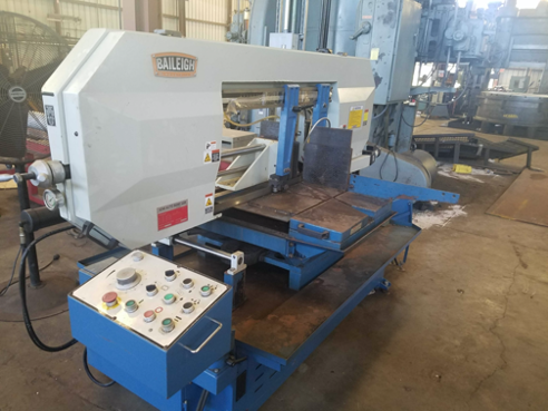 "18.1"" x 18.1"" Baileigh BS-24SA-DM Horizontal Band Saw, 2015"